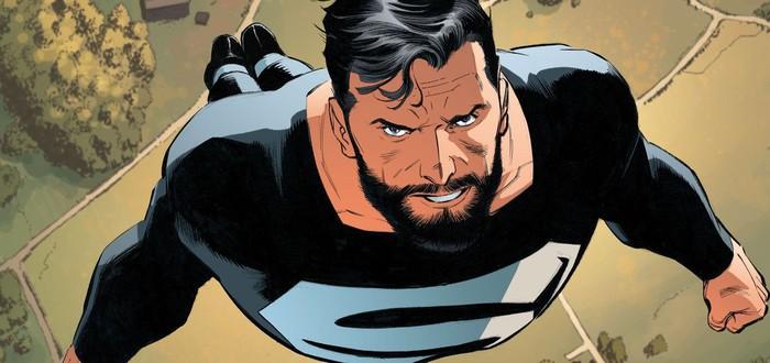 """Супермен мог облачиться в черный костюм в """"Лиге Справедливости"""""""