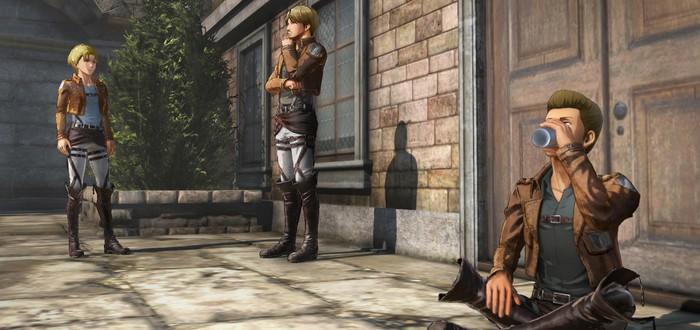 Кастомизация персонажа на новых скриншотах Attack on Titan 2