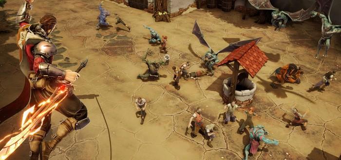 Новый геймплей экшена Extinction посвящен тактике и способностями