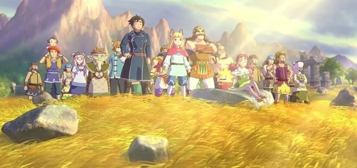 Ролик Ni no Kuni II: Revenant Kingdom о создании игры