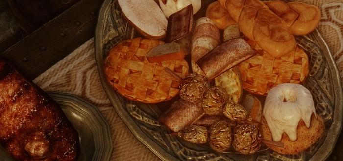 Поклонница Skyrim собирает книгу рецептов из игры