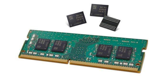 Samsung разработала DDR4 RAM на 10-нм техпроцессе