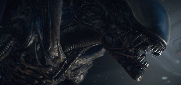 Вот так выглядела собака в роли ксеноморфа на съемочной площадке Alien 3