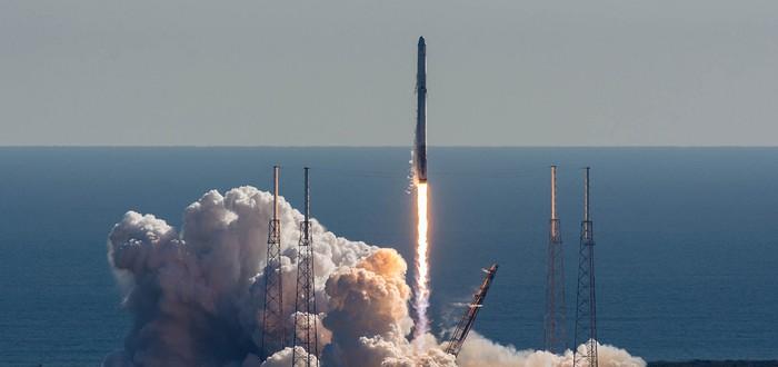 Прямой эфир с последнего запуска SpaceX в этом году