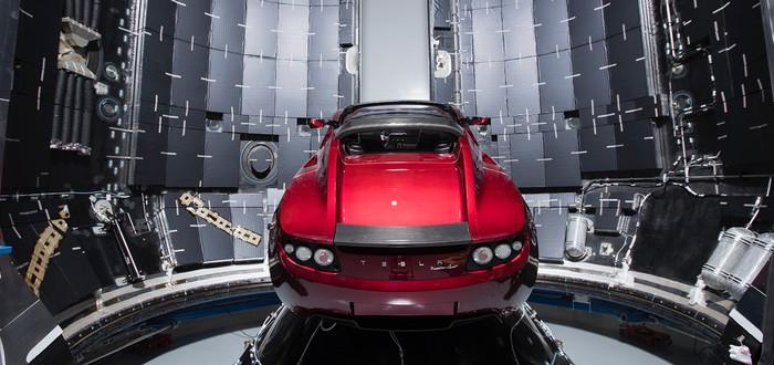 SpaceX готова запустить электромобиль на Марс