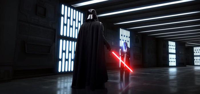 """Как мог бы выглядеть бой Дарта Вейдера и Оби-Вана Кеноби в современных """"Звездных войнах"""""""