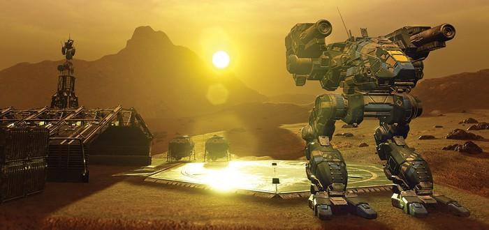 Новый геймплей тактического шутера MechWarrior 5: Mercenaries