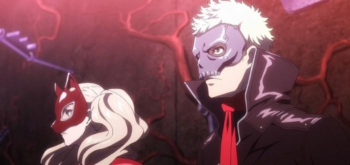 Аниме Persona 5 начнут показывать в апреле