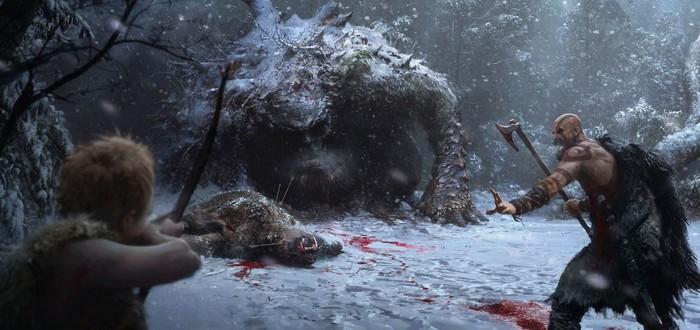 Кратос не сможет прыгать в God of War из-за камеры