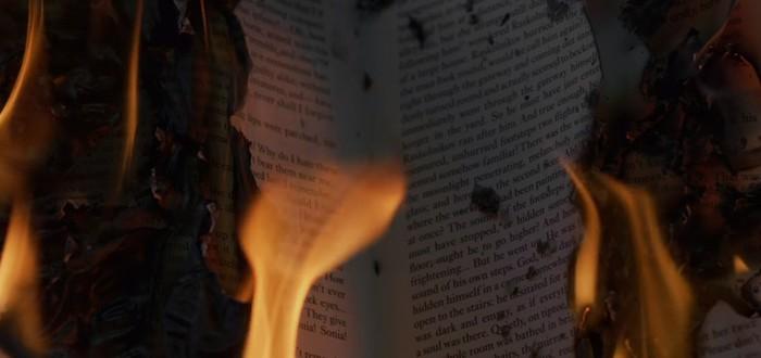 """Первый тизер экранизации романа """"451 градус по Фаренгейту"""""""