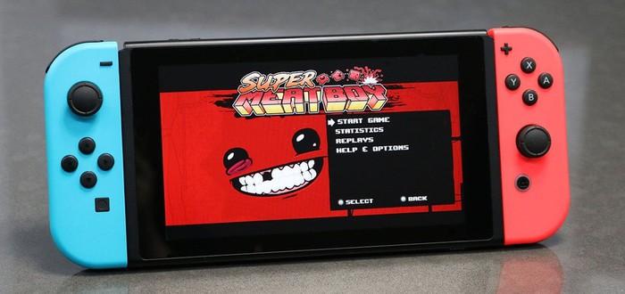 Продажи Super Meat Boy на Switch догнали Xbox 360 уже на старте