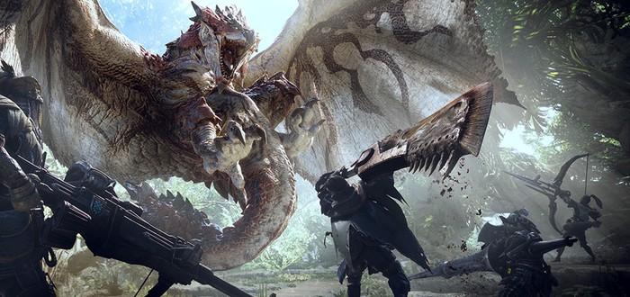 Восемь минут геймплея Monster Hunter: World