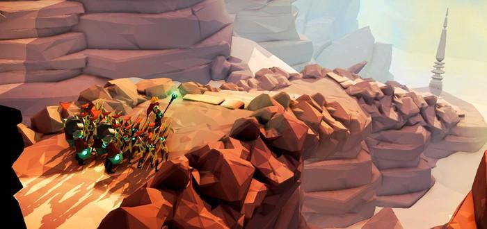 Геймплейный трейлер экшена Masters of Anima