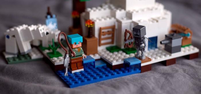 Большое пополнение миниатюрного LEGO Minecraft