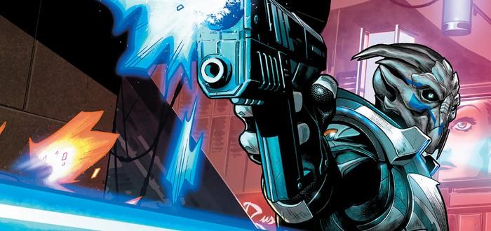 Первые 12 страниц комикса Mass Effect: Discovery