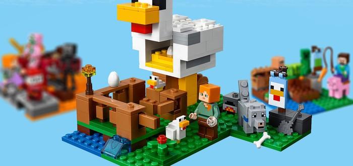 LEGO Minecraft — маленькое начало большого мира
