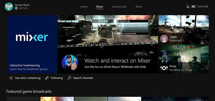 """Сервис стриминга Microsoft Mixer получит возможность оставлять """"чаевые"""""""