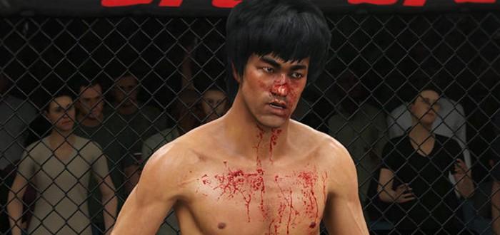 Бой между Брюсом Ли и Конором МакГрегором в UFC 3