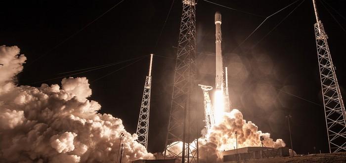 Прямой эфир с очередного повторного запуска Falcon 9