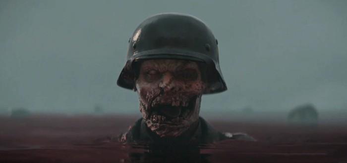 Первые 15 минут зомби-режима из дополнения The Resistance для CoD: WWII