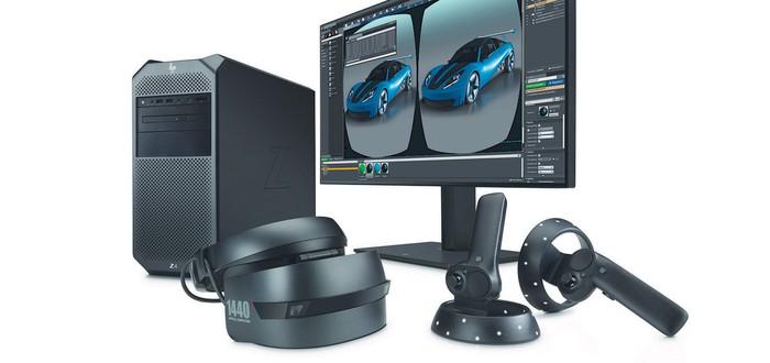 HP представила VR для профессионалов