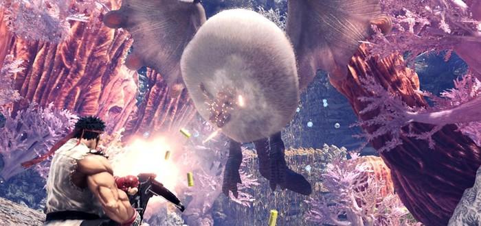 Охота вместе с Рю в новом геймплее Monster Hunter: World