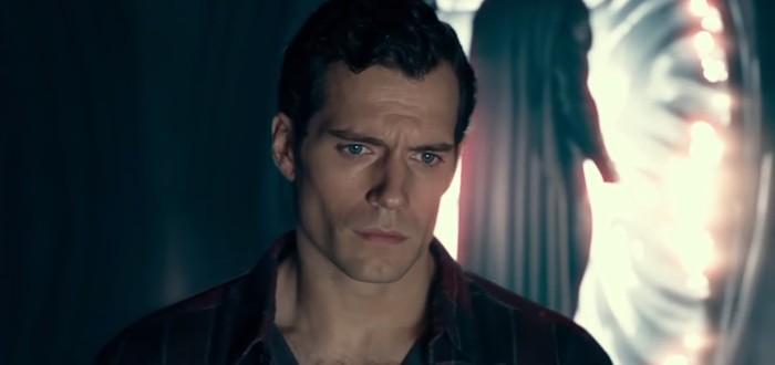 """Черный костюм Супермена в удаленной сцене """"Лиги справедливости"""""""