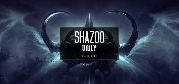 Shazoo Daily: Насыщенная среда