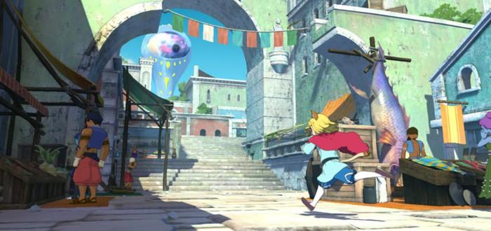 Трейлер нового города Ni no Kuni II: Revenant Kingdom — Гидрополис