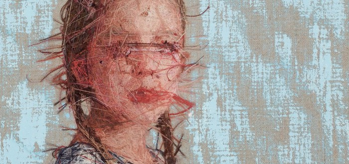 Эти портреты написаны нитями