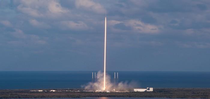 Прямой эфир с запуска тестовых аппаратов для спутникового интернета SpaceX
