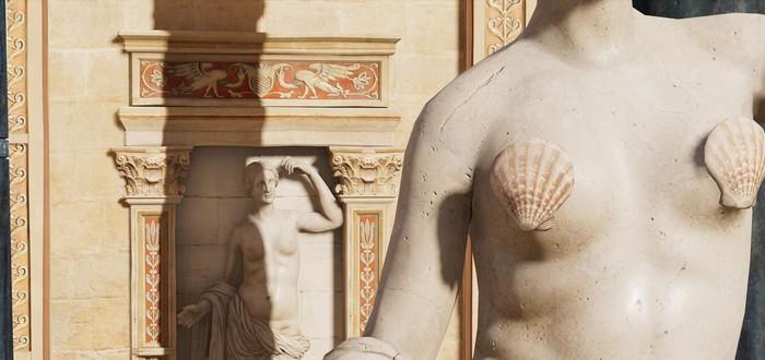 Никаких обнаженных статуй в образовательном туре Assassin's Creed Origins