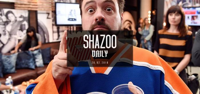 Shazoo Daily: продление усов Генри Кавилла