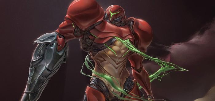 Фанатский редизайн Metroid
