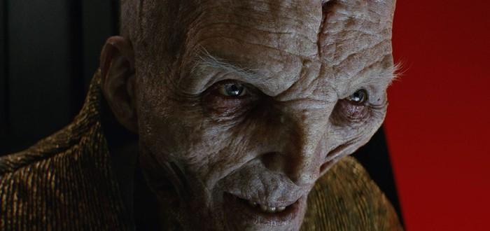 Энди Серкис знает, откуда в Star Wars появился Сноук