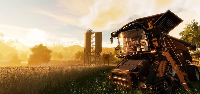 Первый скриншот Farming Simulator 19