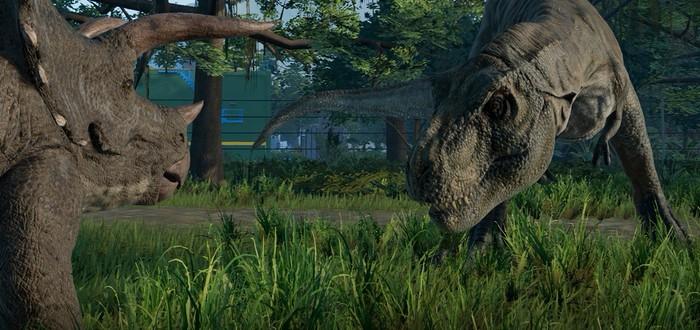Менеджер парка юрского периода Jurassic World Evolution выйдет в июне