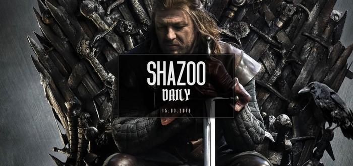 Shazoo Daily: Нед Старк нашептал