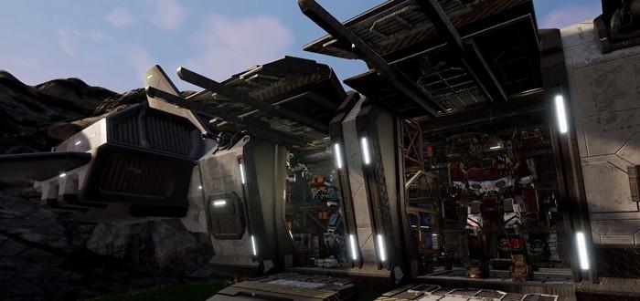 Новый геймплейный ролик MechWarrior 5: Mercenaries с роботами и взрывами
