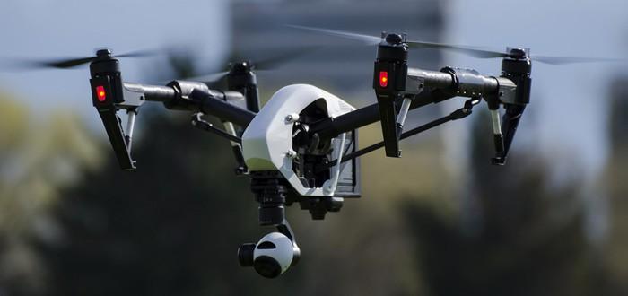 Летающий дрон запустили на высоту 10 километров