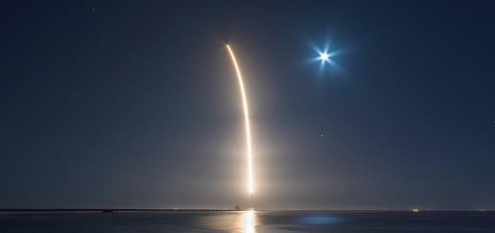 Прямой эфир с нового запуска Falcon 9 от SpaceX