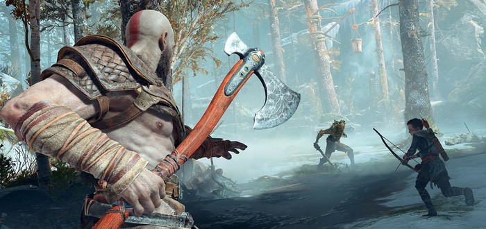 Тролли в новом геймплее God of War