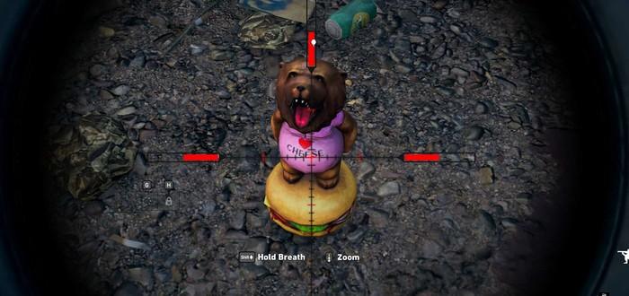 Расположение башкотрясов Чизбургера Far Cry 5