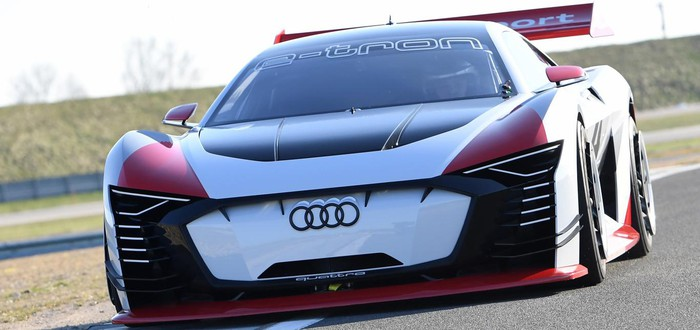 Audi представила свой концепт-кар для Gran Turismo Sport
