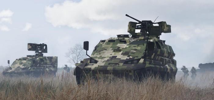 Релизный трейлер дополнения Tanks для Arma III