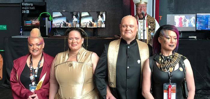 На EVE Fanfest 2018 состоялась настоящая свадьба