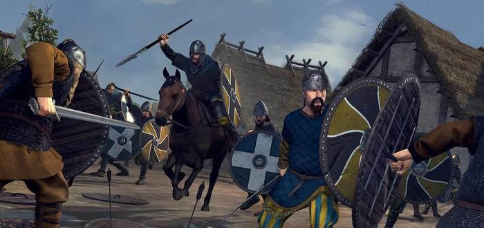 Новый геймплей Total War Saga: Thrones of Britannia за королевство Мерсия