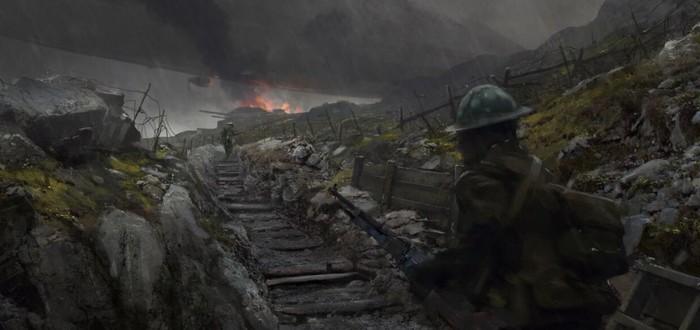 Датамайнеры нашли в файлах Battlefield 1 новое оружие
