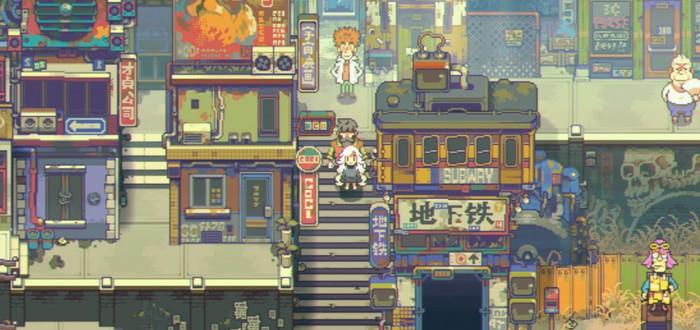 Eastward — постапокалиптическая RPG-адвенчура в стиле аниме 90-х годов