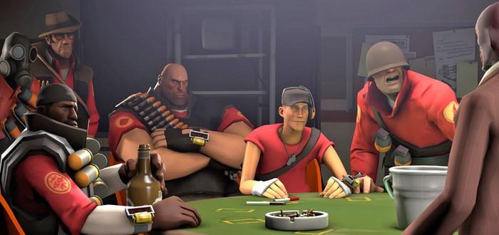 В Team Fortress 2 зафиксировано рекордное падение онлайна